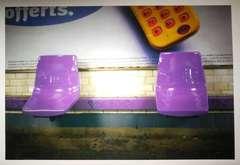 Vavin, Purple. Paris Metro Series