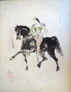 Circus Equestrienne Harlequin
