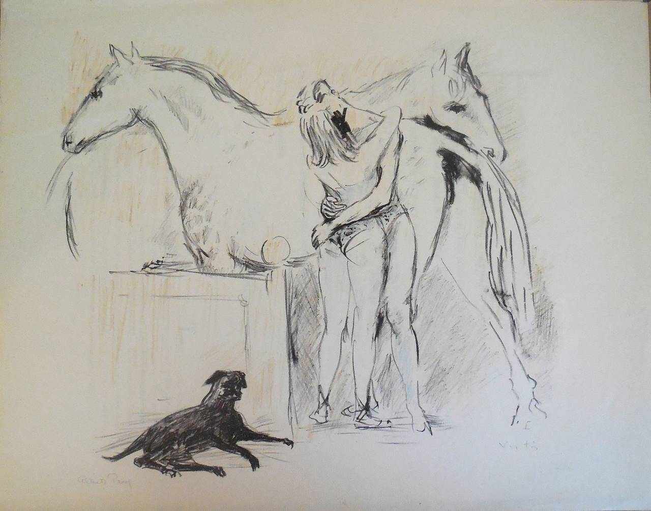 Circus Lovers (Horse & Dog)
