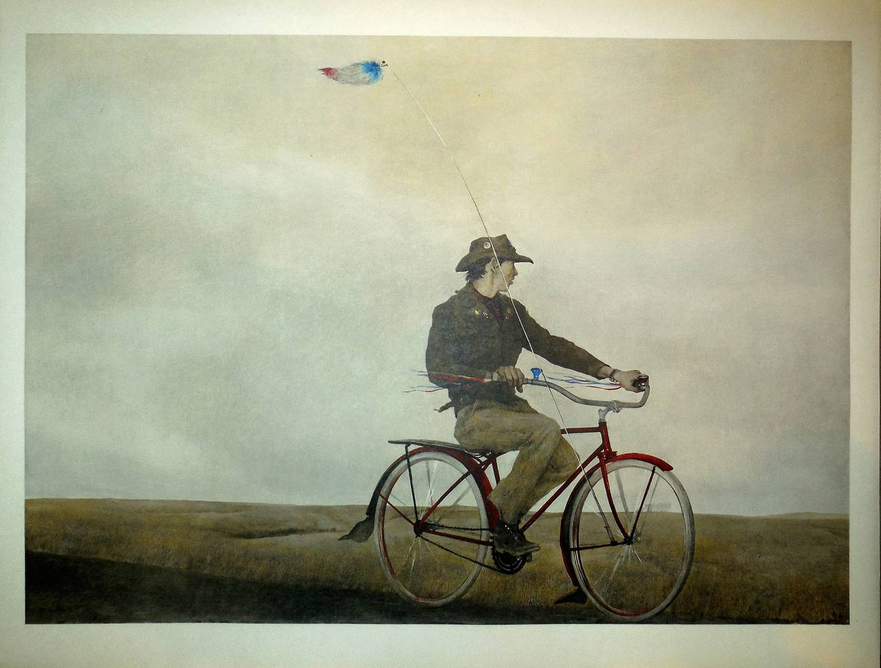 After Andrew Wyeth Quot Young America Quot 1956 Collotype