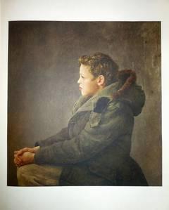 """Rare """"Nicholas"""" 1956 Collotype"""