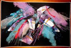 Fiber Art Israeli Tapestry