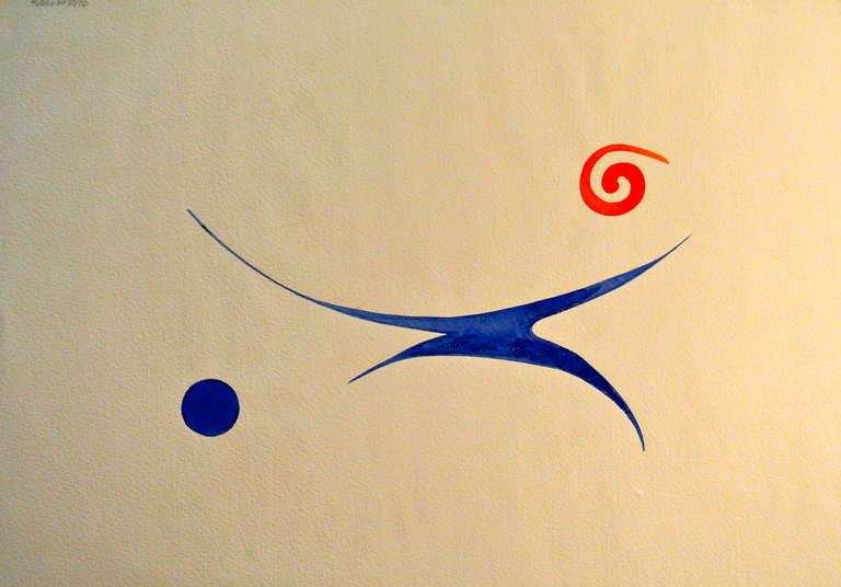 Sacha Kolin Abstract Drawing - Untitled