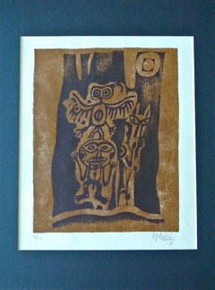 "Inuit-Inspired Silkscreen Print, ""Canada Suite Series"", Ed. 6/22"