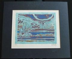 "Inuit-Inspired Silkscreen Print, ""Canada Suite Series"", Ed. 6/21"