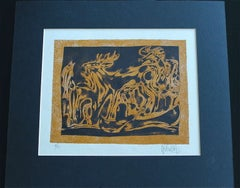 "Inuit-Inspired Silkscreen Print, ""Canada Suite Series"", Ed. 6/23"