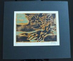 "Inuit-Inspired Silkscreen Print, ""Canada Suite Series"", Ed. 6/24"