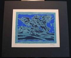 "Inuit-Inspired Silkscreen Print, ""Canada Suite Series"", Ed. 6/20"