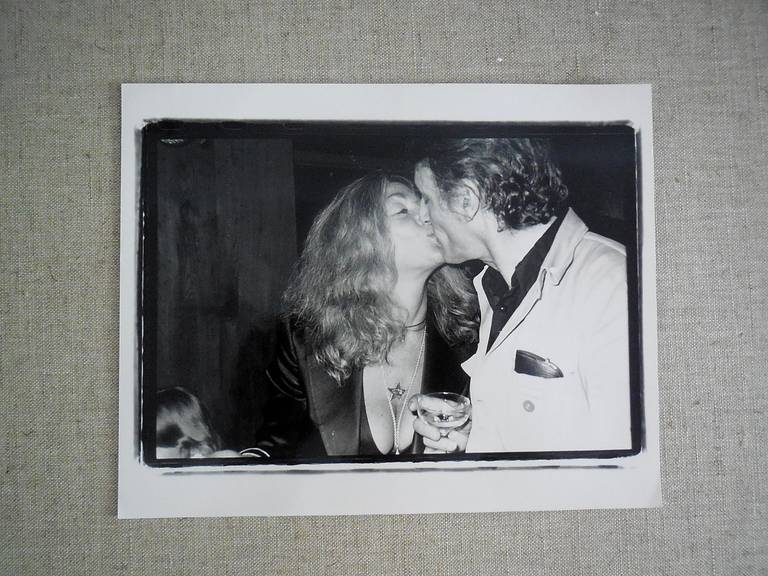 Larry Rivers and Sylvia Miles