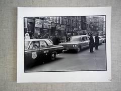Malcolm X Funeral Vintage silver gelatin gelatin photograph