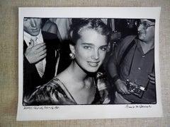 Brooke Shields Vintage Silver Gelatin Photograph