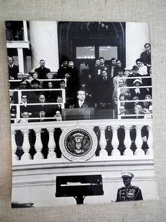 Vintage Signed Silver Gelatin Photgraph Richard Nixon