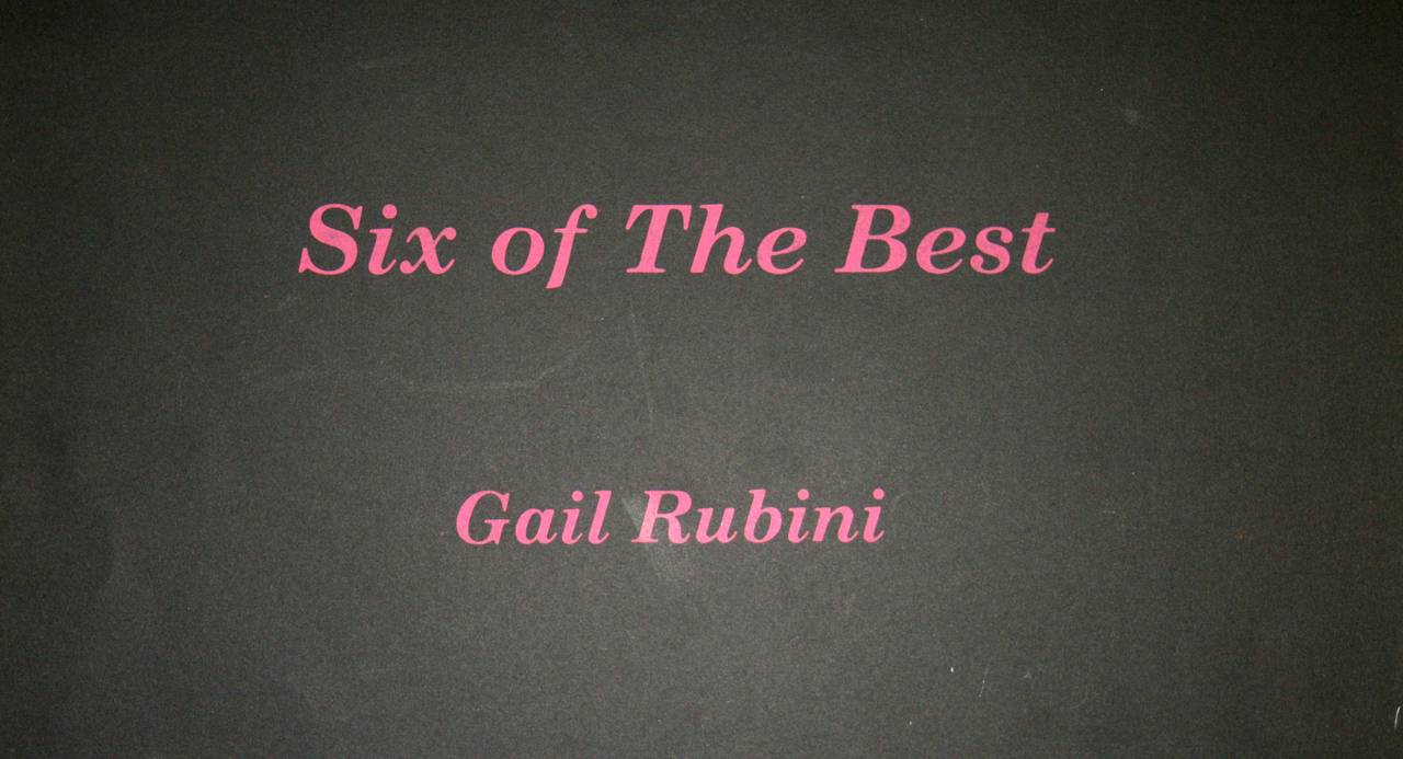 There are some girls who have something besides men to think about - Print by Gail Rubini