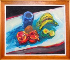 Still Life Tabletop with Fruit