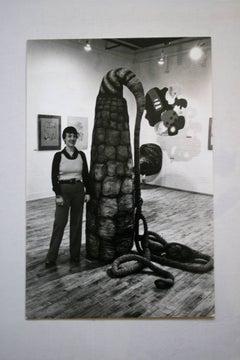 Gillian Bradshaw Smith in Studio