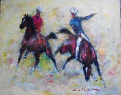 Cowboys on Horseback, Rodeo