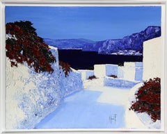 Island Landscape Impasto Oil Painting by Patrick Reault
