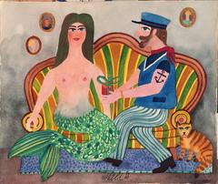Sailor with Mermaid and Cat