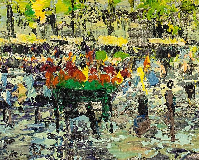Arnoldus Oldenhave (1905-1997)  Arnoldus Oldenhave, painter and watercolorist, lived and worked in Hengelo, Haaksbergen and Amsterdam. Working mainly in oil he is most famous for streetscapes of European cities. Oldenhave's painting are highly