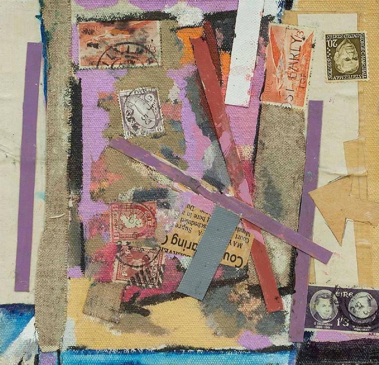 Untitled Mixed Media Collage - Modern Mixed Media Art by William Proweller