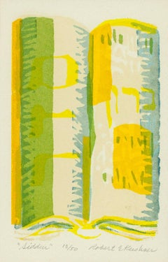 Siddur, Ed. 13 of 50, Judaica Prayer Book Print