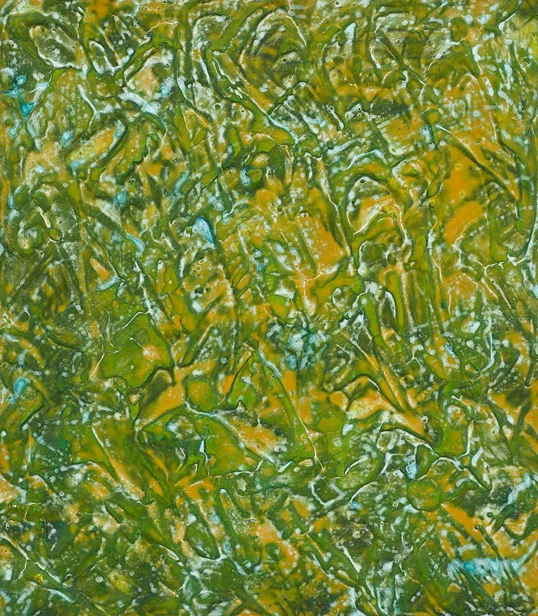 Muddy Roots 1 - Painting by Lynne Golob Gelfman