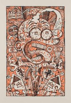 TITEUF - Art Brut / Street Art Silkscreen