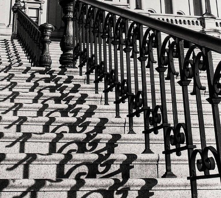"MARGARET BOURKE-WHITE (AMERICAN, 1904-1971): ""THE CAPITOL STEPS, WASHINGTON, D.C 2"