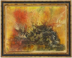 Early 20th Century French Abstract Composition