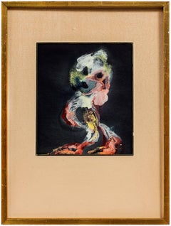 Abstract Poodle, Multi Colored Composition