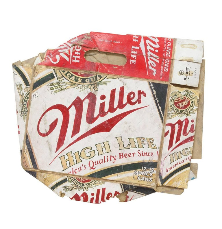 Miller High Life, Trompe L'Oeil Hyperrealism Decay Art
