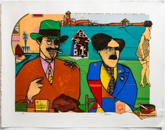 These Foolish Things Remind Me of You Pop Art Color Screenprint Richard Merkin
