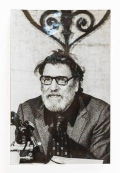 Burt Lancaster, Vintage 1973 Silver Gelatin Signed Photograph