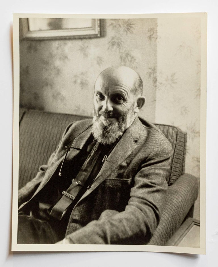 Rare Vintage Silver Gelatin and Polaroid Photograph Prints Ansel Adams Portrait - Gray Black and White Photograph by Ansel Adams