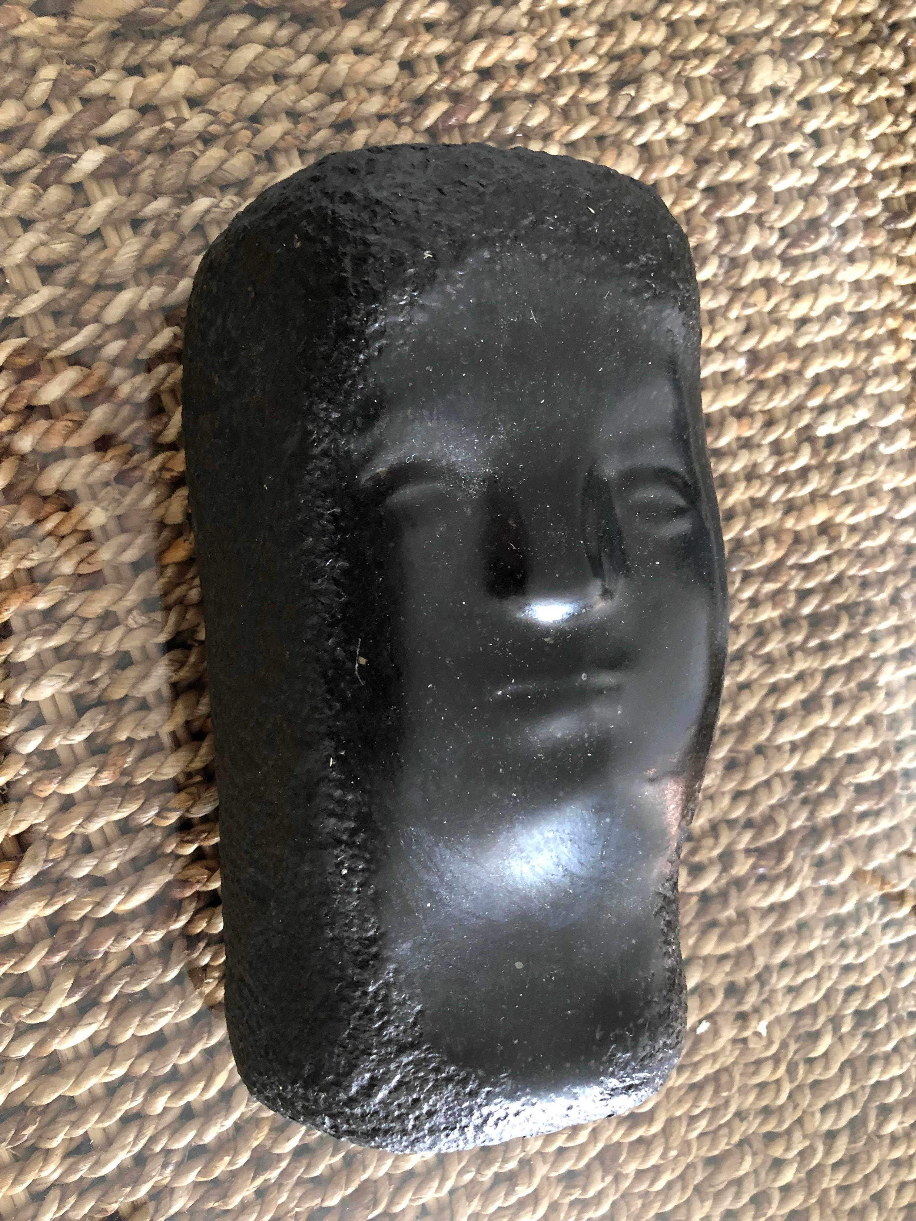 Rare Belgian Marble American Modernist Sculpture