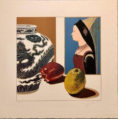 Still Life with Hans Maler Pop Art Serigraph Hand Signed
