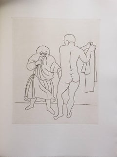 Erotic Etching from Satyricon