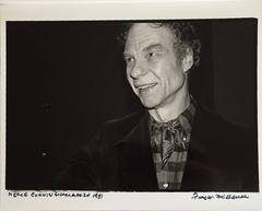 Merce Cunningham 1981