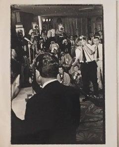 Nixon Meets the Press, Republican Convention Vintage Silver Gelatin Photograph