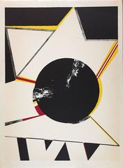 "Budd Hopkins - ""Untitled"" Abstract Star"