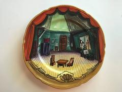 "Rare ""La Bohème"" Opera Plate"