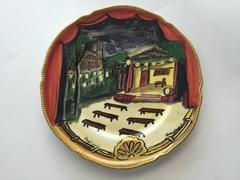 Rare Pagliacci Opera Plate