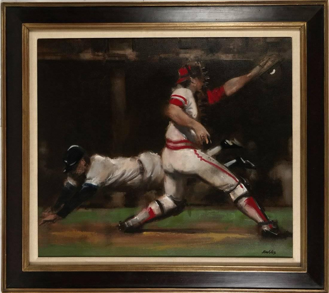 Play at The Plate, Sporting Scene