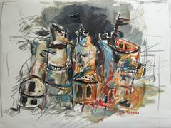 """""""Untitled"""" Spice Towers and Vessels"""