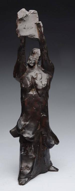 Bronze Moses Figure
