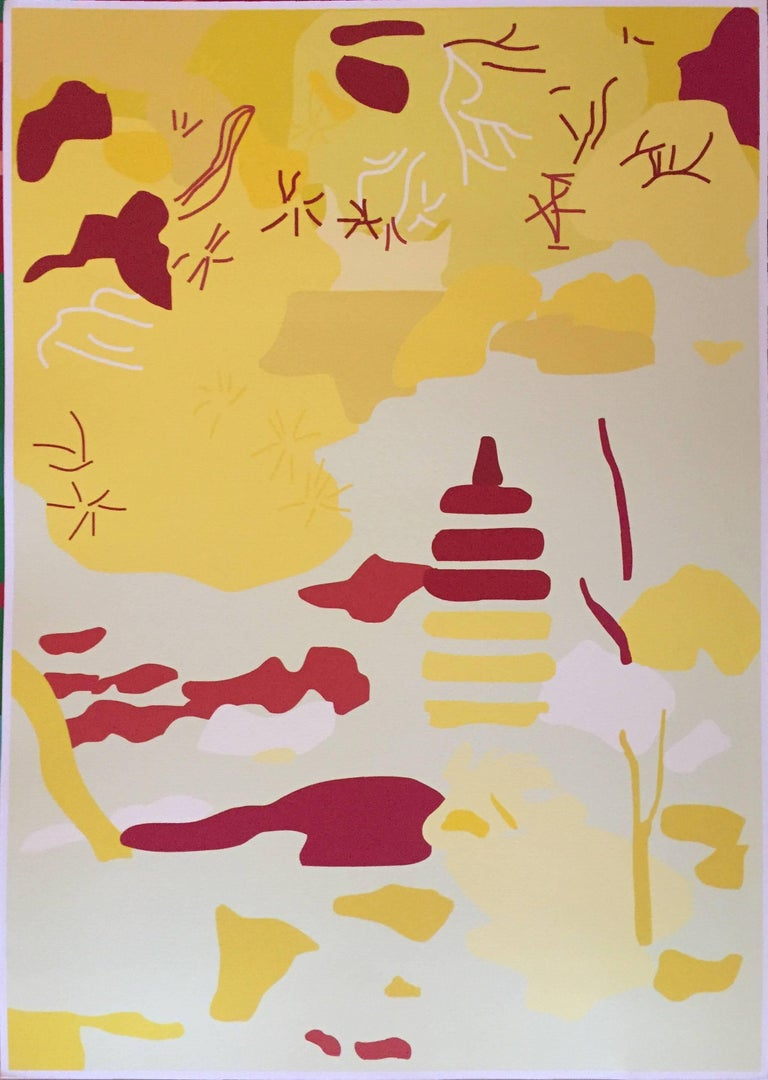 "Tom Baldwin Abstract Print - ""Untitled"""