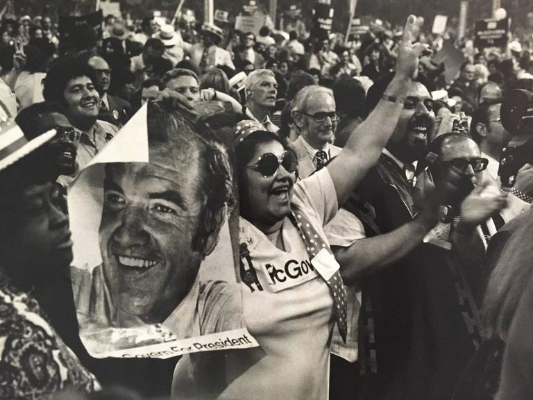 Supporters of George McGovern for President