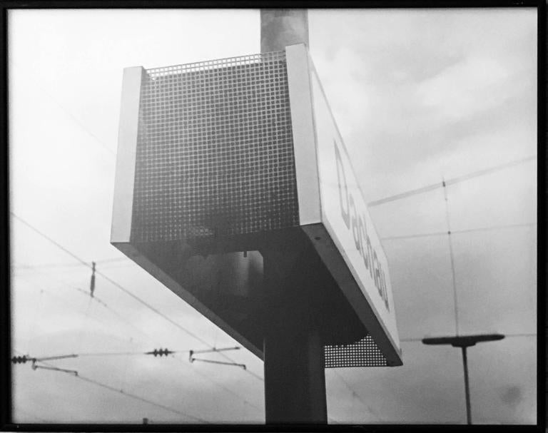 Totem of Unmeasurable Memory, 1995 Assemblage of 7 silver gelatin prints - Silver Black and White Photograph by Lewis Koch