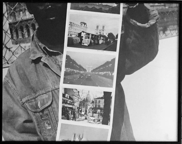 Totem of Unmeasurable Memory, 1995 Assemblage of 7 vintage silver gelatin prints  Lewis Koch lives in Madison, Wisconsin, USA. After completing undergraduate studies in social history and philosophy, he has worked for the past twenty-five years as
