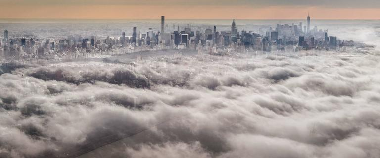 David Drebin Landscape Photograph - Above the Clouds
